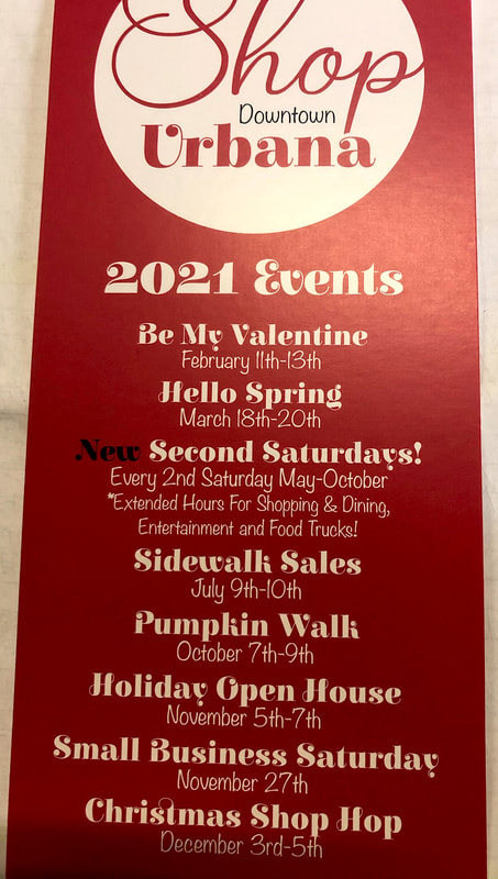 Downtown Urbana Shopping Events